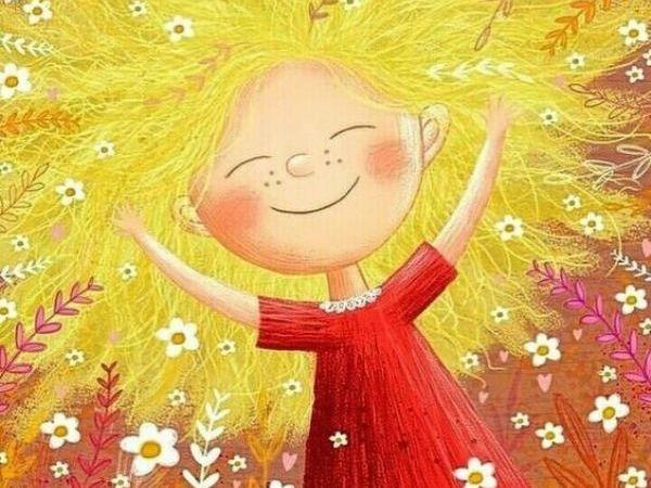 Рисуем гуашью «Солнечную Девочку» | Ярмарка Мастеров - ручная работа, handmade