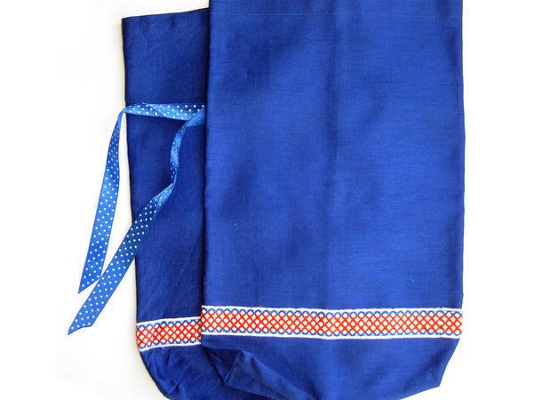 Мастер-класс по пошиву мешочков с тесьмой в русском стиле | Ярмарка Мастеров - ручная работа, handmade