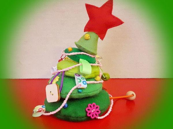 Изготовление новогодней развивающей игрушки «Озорная елочка»: видео мастер-класс   Ярмарка Мастеров - ручная работа, handmade