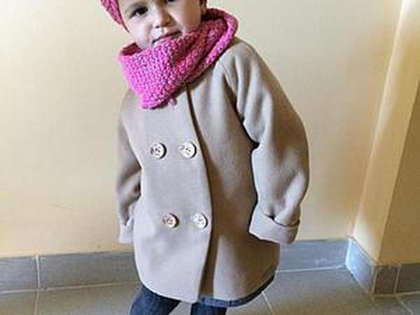 Мастер-класс по пошиву детского двубортного пальто | Ярмарка Мастеров - ручная работа, handmade