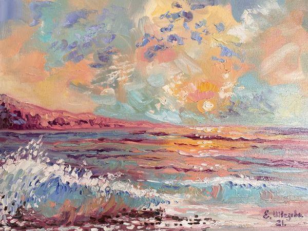 Морские пейзажи. Авторские картины маслом   Ярмарка Мастеров - ручная работа, handmade