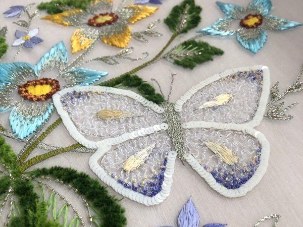 Курс «Шепот лета» 1 уровень по люневильской вышивке | Ярмарка Мастеров - ручная работа, handmade