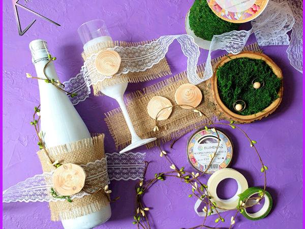 Свадьба в эко стиле | Ярмарка Мастеров - ручная работа, handmade