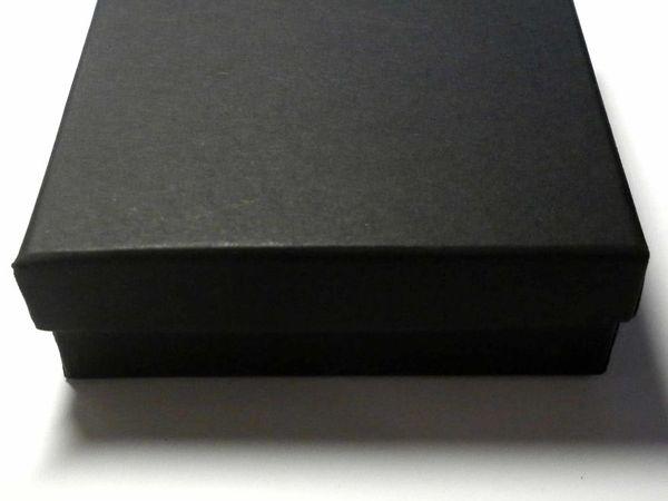 Поступление коробочек 9х9х3 см: черные и белые | Ярмарка Мастеров - ручная работа, handmade