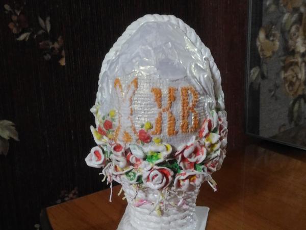 Как сделать декоративное Пасхальное яйцо | Ярмарка Мастеров - ручная работа, handmade