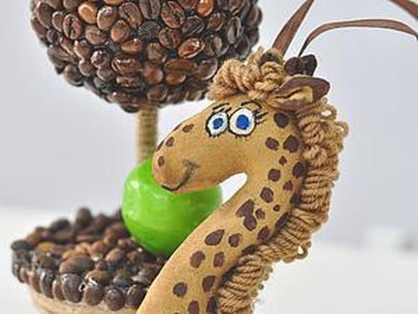 Мастер-класс  по Кофейной Игрушке | Ярмарка Мастеров - ручная работа, handmade