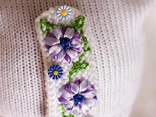 Создаем цветочный декор для шапочки | Ярмарка Мастеров - ручная работа, handmade