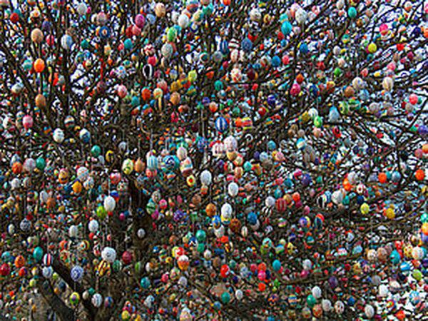 Пасхальное дерево Фолькера Крафта | Ярмарка Мастеров - ручная работа, handmade