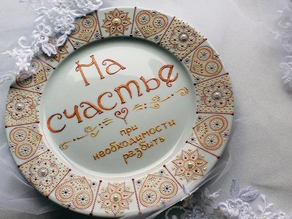 Расписываем сувенирную тарелку | Ярмарка Мастеров - ручная работа, handmade