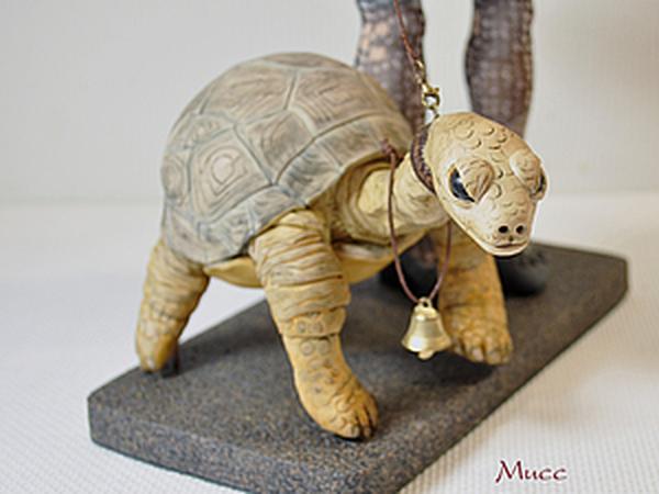 Зонтик и Черепаха - аксессуары для куклы. Лепим с нуля. | Ярмарка Мастеров - ручная работа, handmade