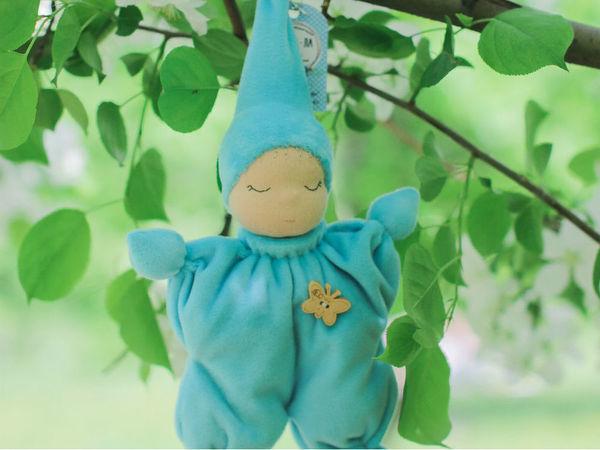 Вальдорфская кукла-бабочка своими руками. Часть 1   Ярмарка Мастеров - ручная работа, handmade