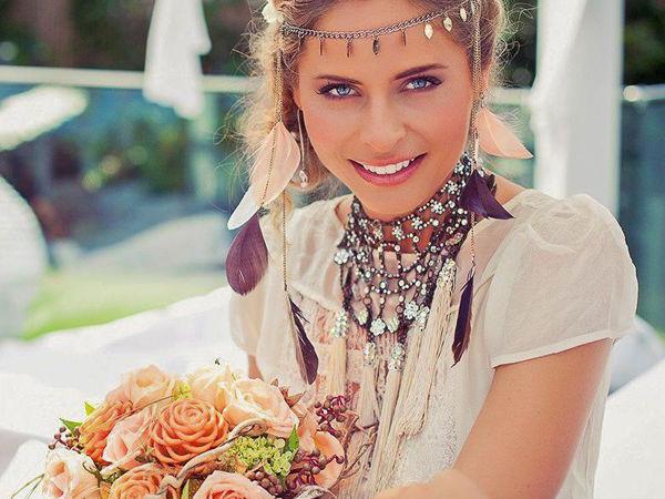Необычные свадебные колье и ожерелья | Журнал Ярмарки Мастеров