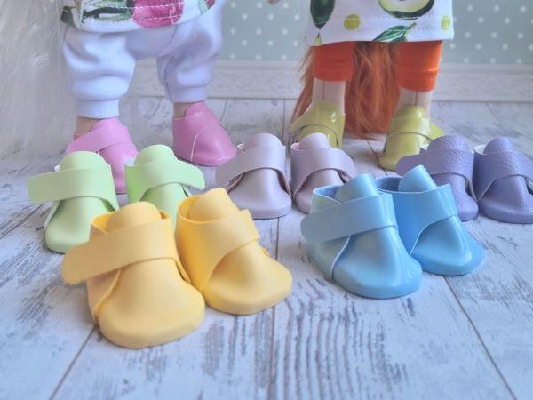 Мастер-класс: ботиночки для кукол на застежке велькро | Ярмарка Мастеров - ручная работа, handmade