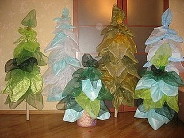 Новогодние декоративные ёлки | Ярмарка Мастеров - ручная работа, handmade
