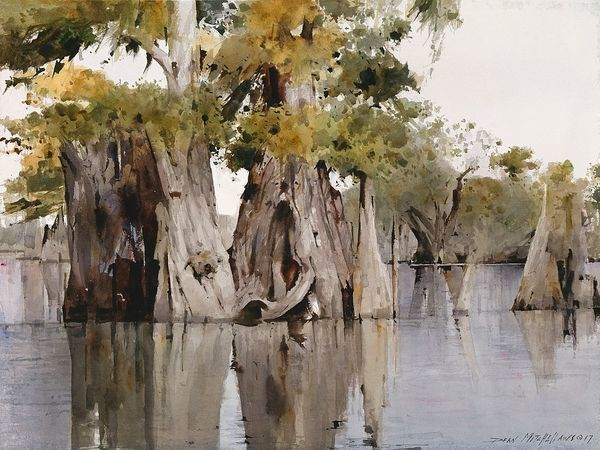 Dean Mitchell and His Watercolour Landscapes | Livemaster - handmade