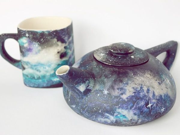Painting Space On Ceramics With Acrylic Livemaster Magazine