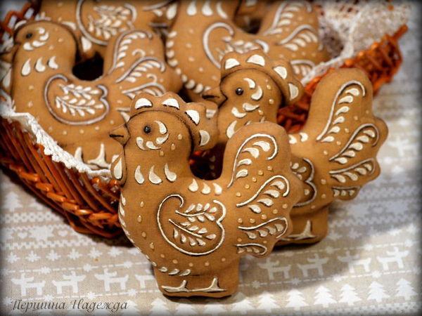 Шьём пряничного петушка — символ 2017 года   Ярмарка Мастеров - ручная работа, handmade