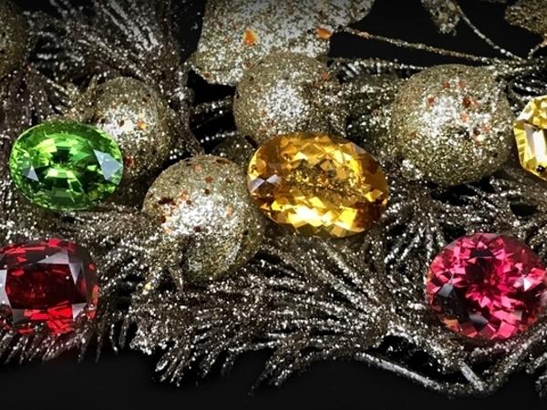 Полудрагоценные камни в подарок на Новый Год | Ярмарка Мастеров - ручная работа, handmade