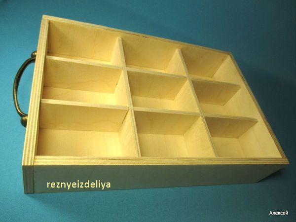 Короб-органайзер с крышкой и без крышки.   Ярмарка Мастеров - ручная работа, handmade