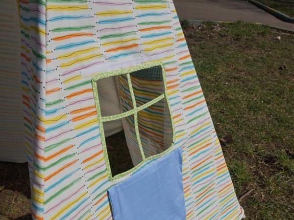 Мастер-класс: домик-вигвам своими руками | Ярмарка Мастеров - ручная работа, handmade