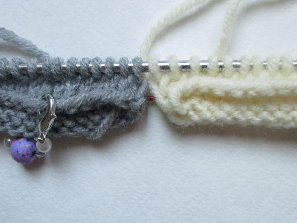 Вяжем перчатки на двух спицах: Magik loop | Ярмарка Мастеров - ручная работа, handmade