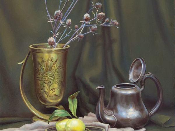 Этапы создания фламандского натюрморта: мастер-класс по живописи | Ярмарка Мастеров - ручная работа, handmade
