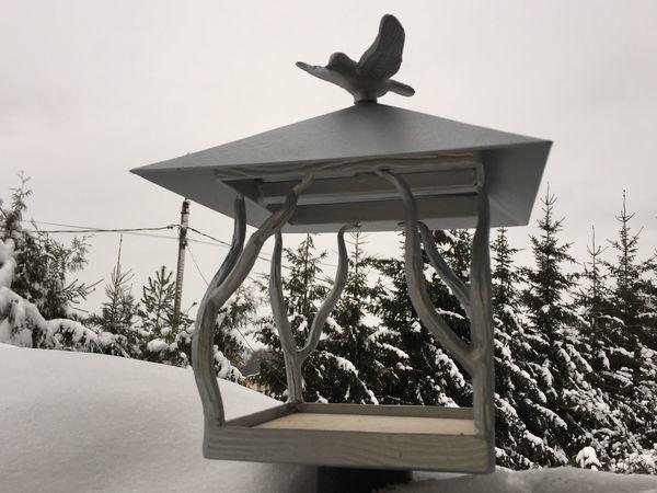 Куем кормушку для птиц | Ярмарка Мастеров - ручная работа, handmade