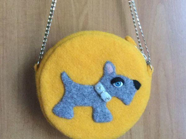 Изготавливаем детскую сумочку из шерстяного фетра   Ярмарка Мастеров - ручная работа, handmade
