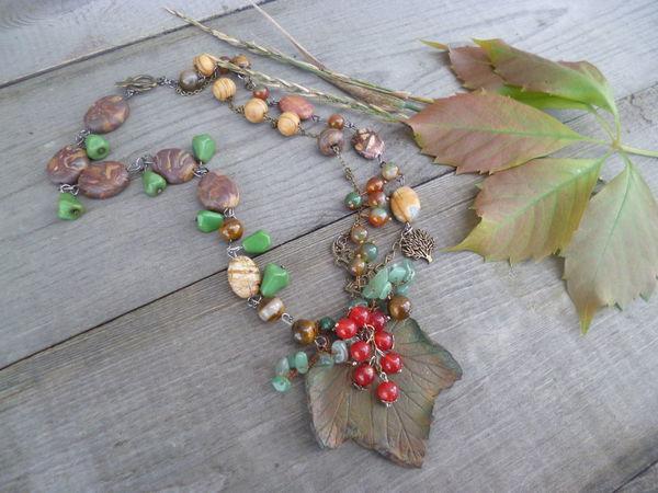 Акция Осенние листья(розыгрыш колье) | Ярмарка Мастеров - ручная работа, handmade