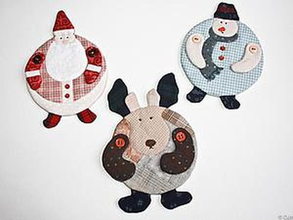 Мастер-класс: шьем снеговичка к Новому году | Ярмарка Мастеров - ручная работа, handmade