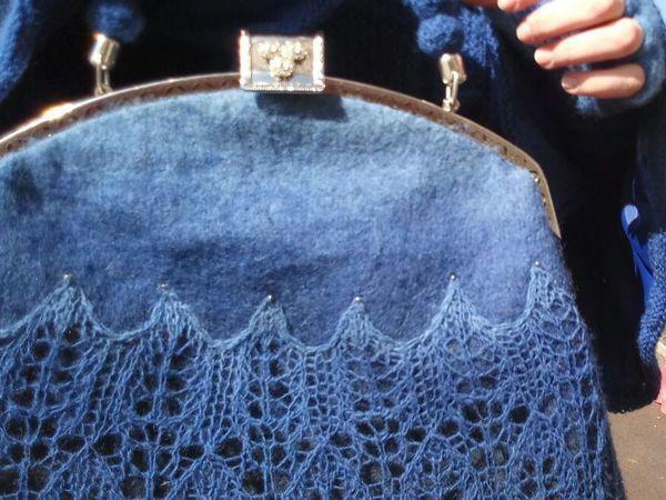 Мастер-класс: как сделать сумку с двойным фермуаром | Ярмарка Мастеров - ручная работа, handmade