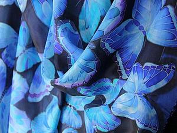 Как я рисую бабочек на шелке:) | Ярмарка Мастеров - ручная работа, handmade