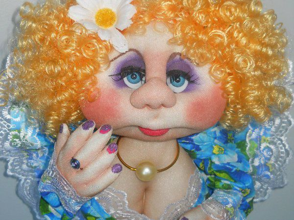 текстильная кукла на удачу. | Ярмарка Мастеров - ручная работа, handmade