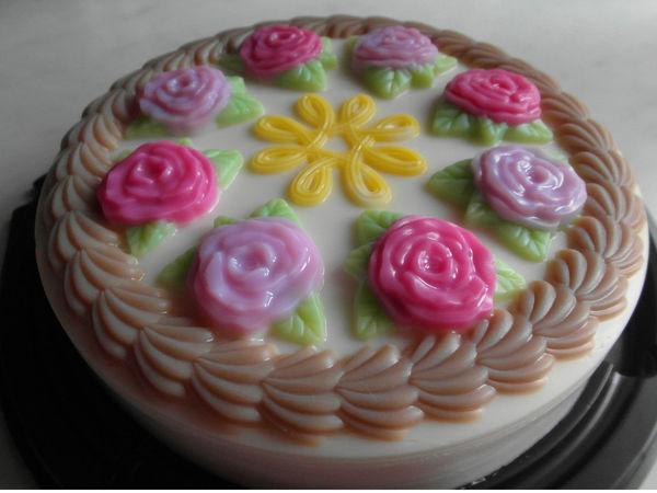 Создаем «вкусный» мыло торт | Ярмарка Мастеров - ручная работа, handmade