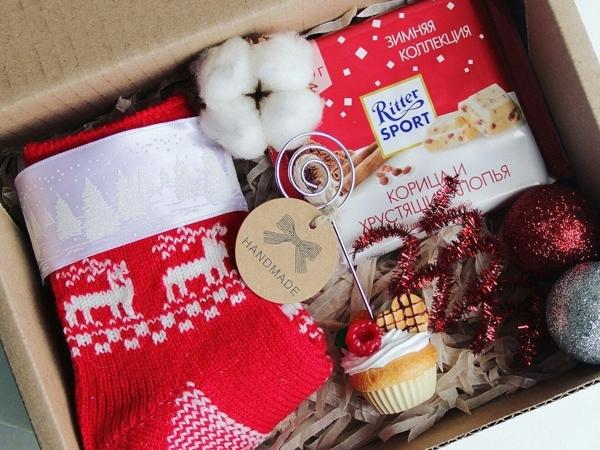 Идеи интересных подарков: как собрать подарочный бокс своими руками   Ярмарка Мастеров - ручная работа, handmade