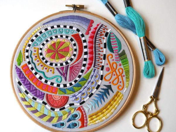 Amazing Embroidery by Corinne Sleight   Livemaster - handmade