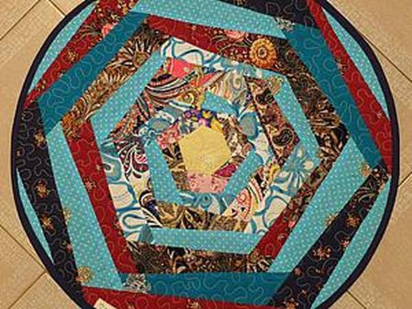 Шьем коврик в деревенском стиле | Ярмарка Мастеров - ручная работа, handmade
