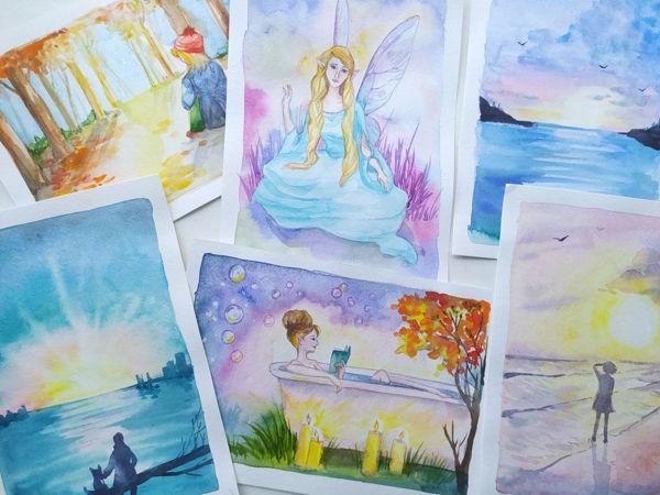 Готовлюсь к  «Октябрьским письмам»   Ярмарка Мастеров - ручная работа, handmade
