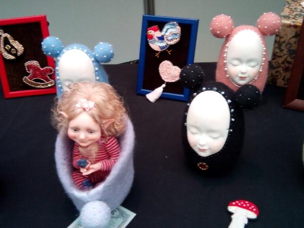 Выставка кукол в гостинном дворе-3 | Ярмарка Мастеров - ручная работа, handmade