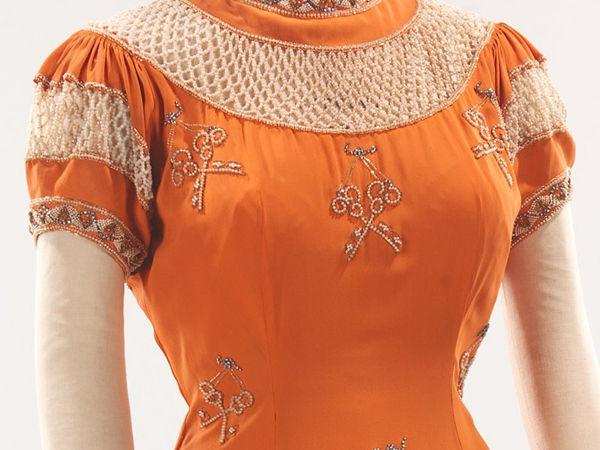 Вечернее платье с ключами от Elsa Schiaparelli 1939 | Ярмарка Мастеров - ручная работа, handmade