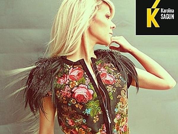 Новая линия Karolina Sagun из павлопосадских платков | Ярмарка Мастеров - ручная работа, handmade