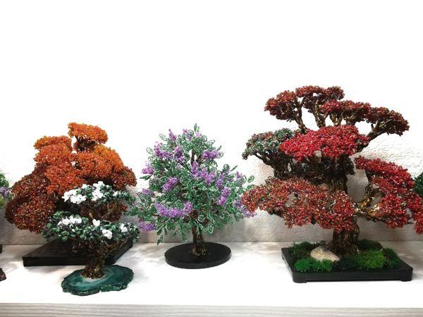 11% скидка на эксклюзивные деревья из бисера | Ярмарка Мастеров - ручная работа, handmade