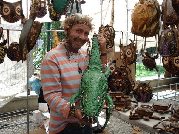 Бразильский уголок рукодельных товаров, или «Рынок хиппи» в Рио-де-Жанейро | Ярмарка Мастеров - ручная работа, handmade