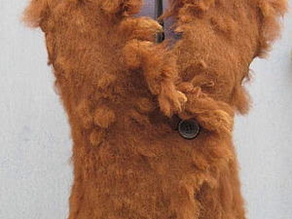 Жилет из Альпаки | Ярмарка Мастеров - ручная работа, handmade