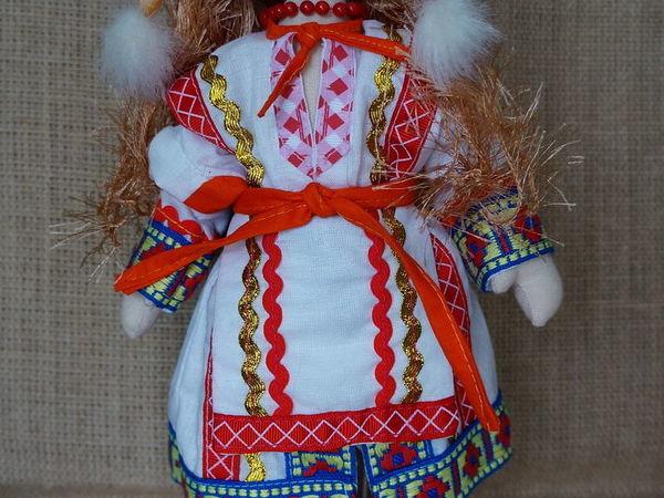 Шьем куколку в мордовском национальном костюме | Ярмарка Мастеров - ручная работа, handmade