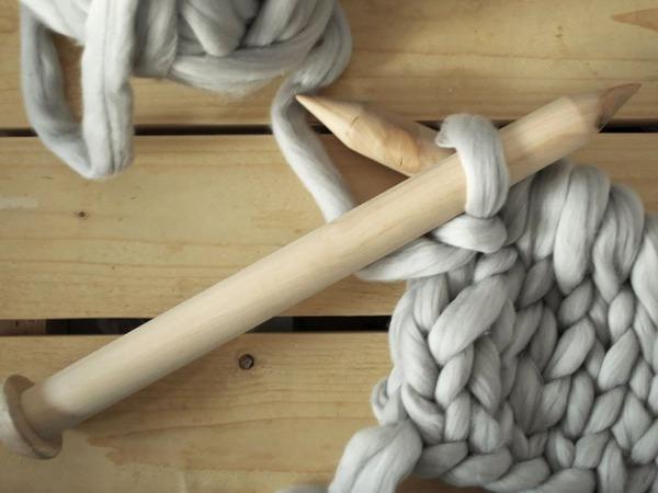 Крупная вязка: обзор пряжи и инструментов | Ярмарка Мастеров - ручная работа, handmade