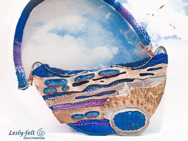 Немного воздуха в моем магазине или синий сон о родных берегах. | Ярмарка Мастеров - ручная работа, handmade
