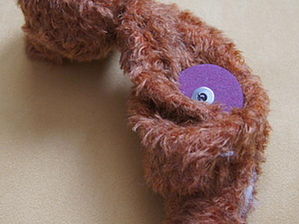 Крепление лап и головы у мишки Тедди.   Ярмарка Мастеров - ручная работа, handmade