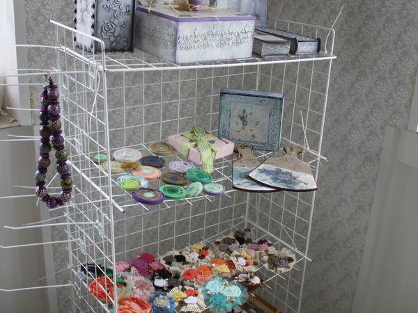 Переносной стеллаж для выездных ярмарок | Ярмарка Мастеров - ручная работа, handmade