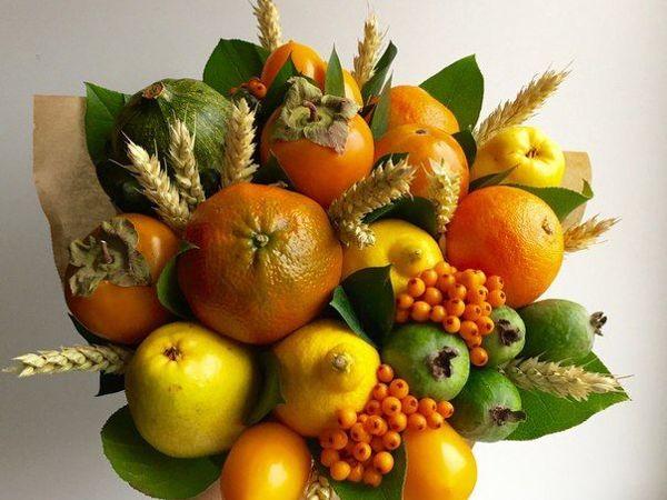 Мастер-класс  «Составление букета из овощей, фруктов и цветов»   Ярмарка Мастеров - ручная работа, handmade